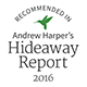 Recommended in Andrew Harper's Hideaway Report