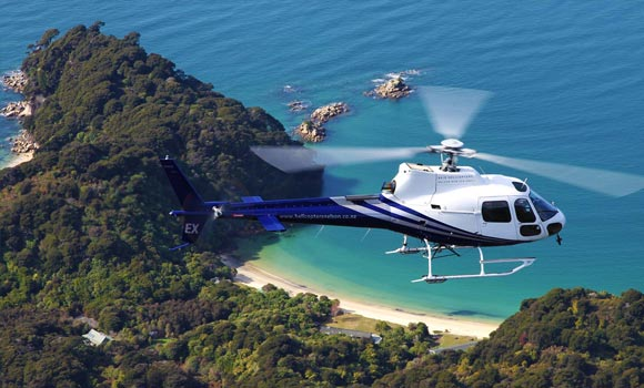 Boat Charter & Scenic Helicopter - Edenhouse Luxury Lodge, NZ